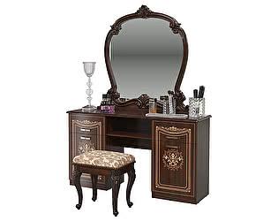 Стол туалетный Мэри-Мебель Грация СГ-07 + Зеркало СГ-08 + Пуф СГ-09