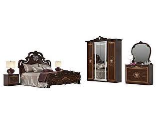 Спальня Мэри-Мебель Грация № 1 СГ-06+СГ-08+СГ-02+СГ-05+СГ-04Ш+СГ-05
