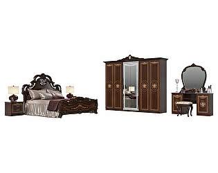 Спальня Мэри-Мебель Грация № 2 СГ-05+СГ-04Ш+СГ-05+СГ-03+СГ-07+СГ-08+СГ-09