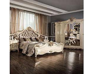Спальня Юг-Мебель Джоконда Люкс 5 крем глянец