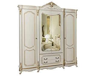 Купить шкаф Юг-Мебель Мона Лиза 4-х дверный