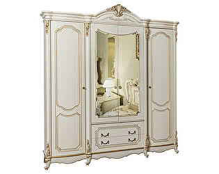 Шкаф Юг-Мебель Мона Лиза 4-х дверный
