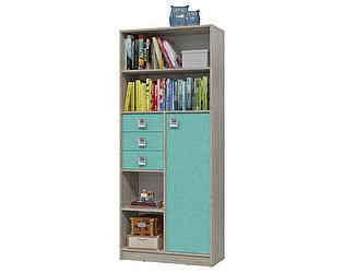 Купить шкаф Гранд Кволити Сити 6-9414 с дверкой и ящиками