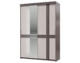 Купить шкаф Гранд Кволити Презент 4-4019, 2-х дверный с зеркалом