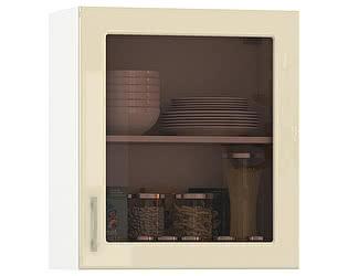 Купить шкаф Mobi Сандра 600 витрина 1 дверь, универсальная дверь