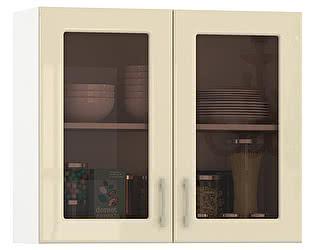 Купить шкаф Mobi Сандра 800 витрина 2 двери, ШхГхВ 80х32х68 см.