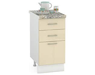 Купить стол Mobi Сандра 400 3 ящика, ШхГхВ 40х52х81 см.