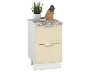 Купить стол Mobi Сандра 500 2 ящика, ШхГхВ 50х52х81 см.
