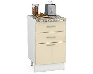 Купить стол Mobi Сандра 500 3 ящика, ШхГхВ 50х52х81 см.