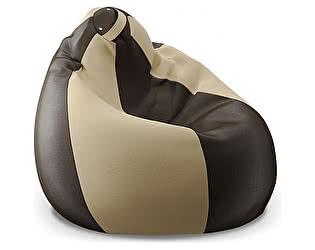 Кресло-мешок Moon Trade Модель 024 (бежевый/ коричневый)