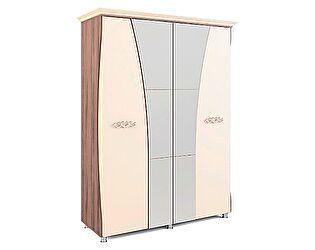 Шкаф четырехдверный с карнизом Натали МСТ, мод.10