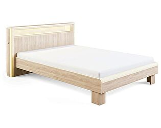 Кровать МСТ Оливия с подсветкой (160), мод. 3.2