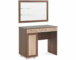 Стол туалетный с зеркалом МСТ Сальвия, мод. №4
