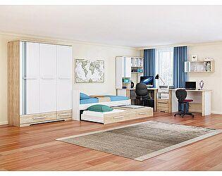 Набор мебели для детской МСТ Лион, комплектация 3