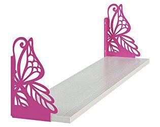 Полка МСТ фигурная Бабочка