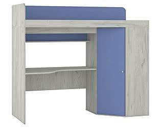 Кровать-чердак со столом Тетрис, арт.345+353