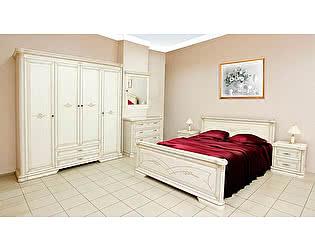 Спальня Гербера белая эмаль