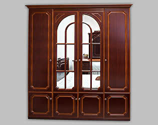 Шкаф 4х-дверный Нимфа Нижегородец