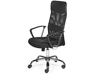 Купить кресло Норден Директ (black) черная экокожа, черная сетка