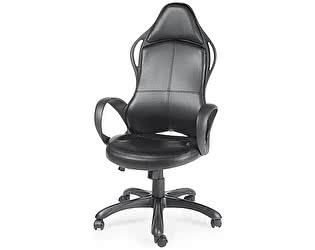 Купить кресло Норден Вайпер черный пластик, черная экокожа
