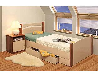 Кровать с ящиком 1200 Олимп-Мебель