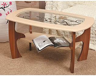 Стол журнальный Маджеста-3 с рисунком Олимп-Мебель