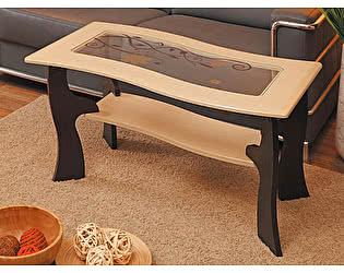 Стол журнальный Маджеста-9 с рисунком Олимп-Мебель