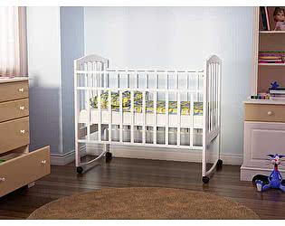 Кровать детская  Орматек Золушка белая