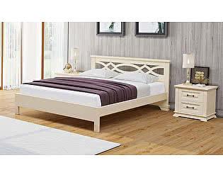 Кровать Райтон Лира М -тахта сосна (белый, слоновая кость)