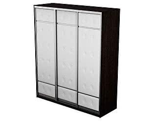 Шкаф-купе 3х дверный Неро/Сезия без зеркал