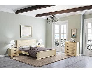 Кровать Райтон Венеция М береза (белый, слоновая кость)
