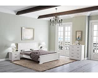 Кровать Райтон Венеция М сосна (белый, слоновая кость)