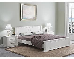 Кровать Райтон Венеция береза (белый, слоновая кость)