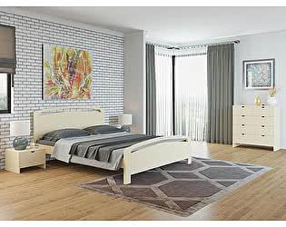 Кровать Райтон Веста 1-М-R береза (белый, слоновая кость)