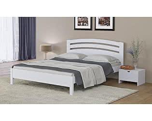 Кровать Райтон Веста 2-М-тахта-R береза (белый, слоновая кость)