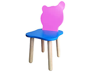 Детский стульчик Polli Tolli Джери Розово-голубой