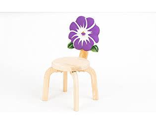 Купить стул Polli Tolli Цветочек Анютины глазки детский