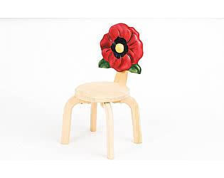 Купить стул Polli Tolli Цветочек Мак детский