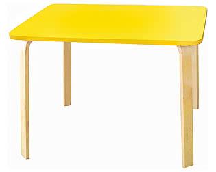 Купить стол Polli Tolli Мордочки желтый детский