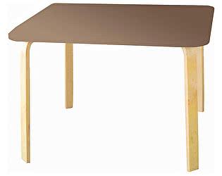 Купить стол Polli Tolli Мордочки коричневый детский