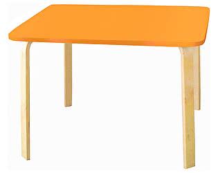 Купить стол Polli Tolli Мордочки оранжевый детский