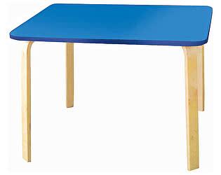 Купить стол Polli Tolli Мордочки голубой детский