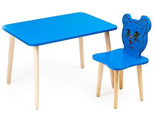 Купить  Polli Tolli Комплект детской мебели Джери с голубым столиком