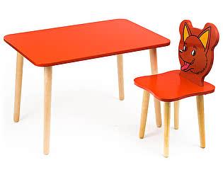 Купить  Polli Tolli Комплект детской мебели Джери с красным столиком