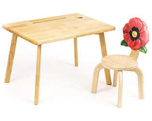 Купить  Polli Tolli Комплект детской мебели Цветочек Мак