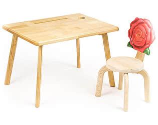 Купить  Polli Tolli Комплект детской мебели Цветочек Розочка
