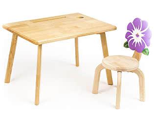Купить  Polli Tolli Комплект детской мебели Цветочек Анютины глазки