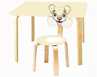 Купить  Polli Tolli Комплект детской мебели Мордочки с ванильным столиком
