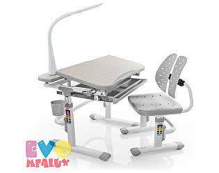 Купить стол Mealux Детская парта с регулировкой высоты и стулом EVO-05 с лампой