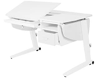 Купить стол Астек Прайм растущая с подвесной тумбой и выдвижным органайзером